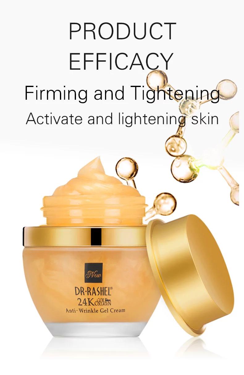 Dr Rashel 24 K Gold Collagen Youthful Anti skin care Wrinkle whitening gel  Cream – Dr. Rashel Pakistan