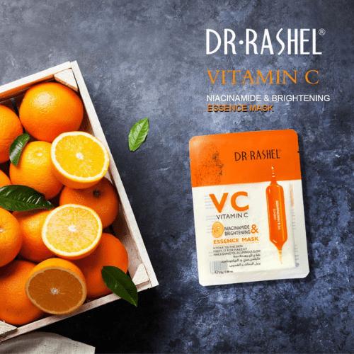 Dr Rashel VC& Niacinamide Brightening Essence Mask