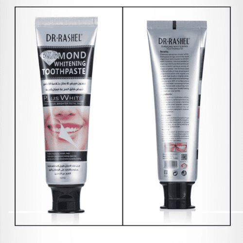 DR.RASHEL Mint Taste Stain Remover Fresh Breath Diamond Whitening Toothpaste