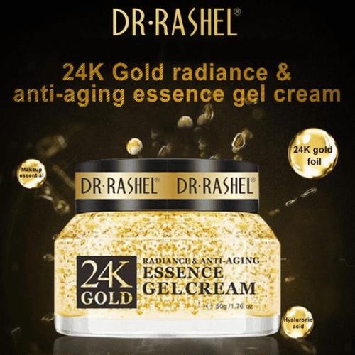 Dr Rashel 24K Gold Essence Gel Cream – Dr. Rashel Pakistan