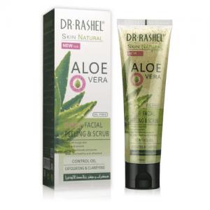 Dr Rashel Aloe Vera Exfoliating Cream 2 in 1 Peeling Facial Scrub