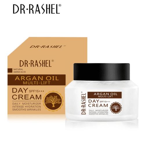 DR.RASHEL Daily Moisturizer Intense Hydration Smooth Wrinkles Face Whitening Cream Argan Oil Day Cream