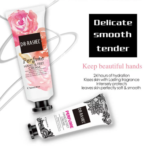 Dr Rashel 24 Hours Hydration Lasting Fragrance Soft Smooth Skin Perfume Hand Foot Cream