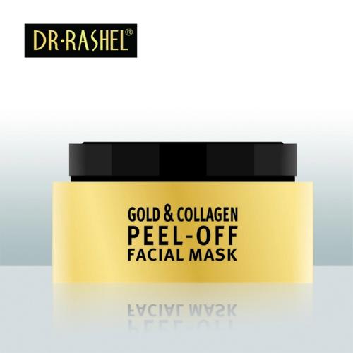 Dr Rashel Anti Wrinkle Whitening Mud Facial Mask Gold Collagen Peel Off Face Mask