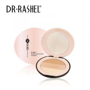 Dr.Rashel 3 In 1 Velvet Highlighter Powder