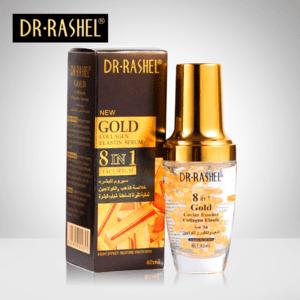 Dr-Rashel Gold 8 in 1 Caviar Essence Collagen Elastic Serum