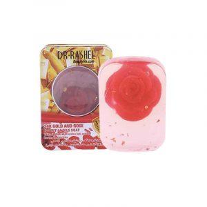 Dr.Rashel 24k Gold Rose Essential Oils Soap