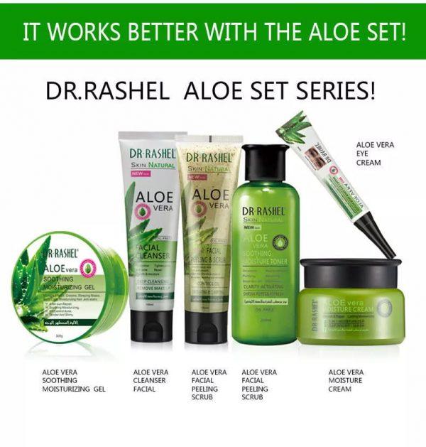 Dr Rashel Aloe Vera After Sun Repair Oil Control Sleeping Mask Moisturizing Gel
