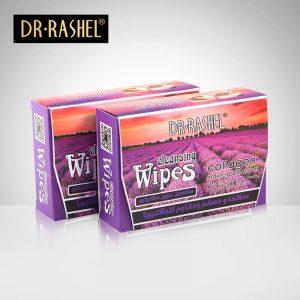 Dr Rashel Lavender Collagen Cleansing Wipes