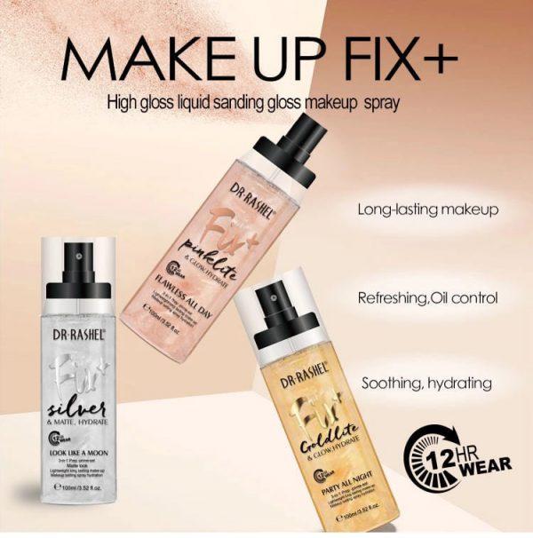 Dr Rashel Facial Nourishing Long Lasting Makeup Setting Base Spray Matte Finish Makeup Fixer