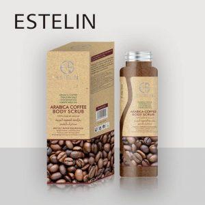 Dr Rashel Estelin Arabica Coffee Body Scrub